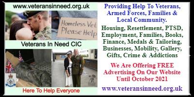 Veterans In Need C.I.C Portsmouth